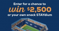 Amp Up Your STAYdium Sweepstakes
