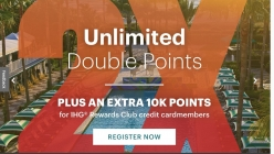 IHG® Double Points Promotion