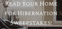 Ready your Home for Hibernation Sweepstakes