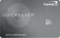 Capital One® Quicksilver® Rewards Credit Card