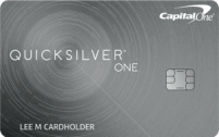 Capital One® QuicksilverOne® Rewards Credit Card