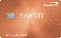 Capital One® Savor® Rewards Credit Card